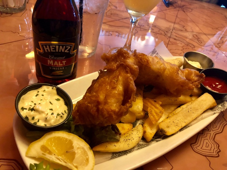 Park Lane Hampton Fish Chips Happy Hour